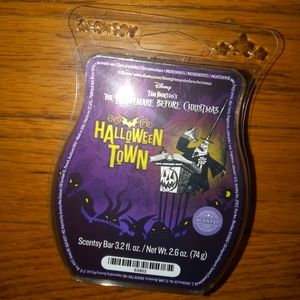 Halloween Town Tim Burton new Scentsy wax bar